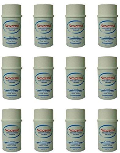 12 Pezzi Crema Schiuma da barba Noxzema classic Concentrata Protective Shave