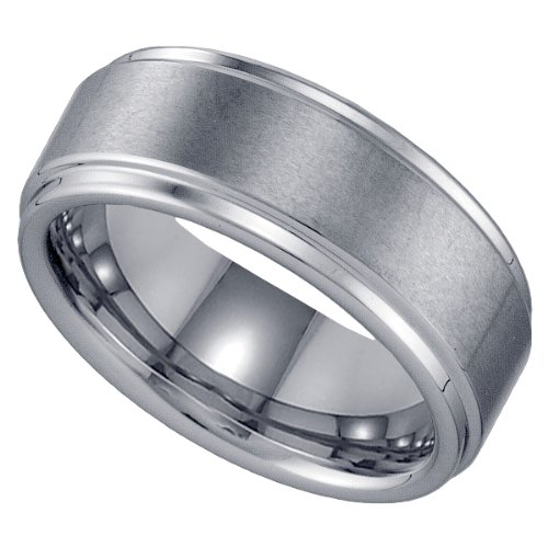 Tungsten Men's Wedding Band (Size-8)
