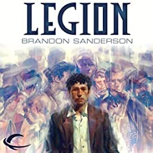 Legion (       UNABRIDGED) by Brandon Sanderson Narrated by Oliver Wyman