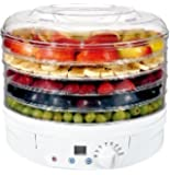 Digital Food Dryer & Dehydrator - Fruit Dehydrater with Digital temperature control & Timer