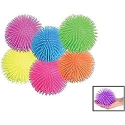 "Puffer Ball. Pon Pon Squishy Ball (12 pack) 5""."