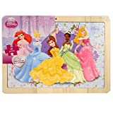 Disney Princess Wood Picture Frame 12 Piece Puzzle