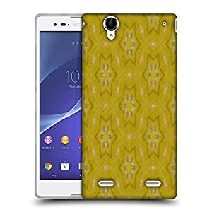 Snoogg Small Stars Yellow Designer Protective Phone Back Case Cover For Sony Xperia T2 Ultra