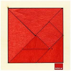 Goula - 50652 - Jouet en Bois - Eveil - Tangram