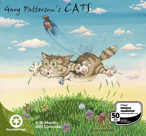 2011  Gary Patterson's Cats  Mini Calendar
