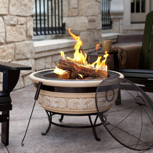 Angel Wings Magnesia Fire Pit 30 Inch