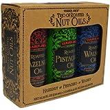 Trader Joe's Trio of Roasted Nut Oils Gift Set: Hazelnut; Pistachio; Walnut