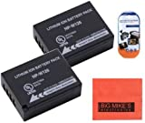 Big Mike'S 2 Pack Of Np-W126 Batteries For Fujifilm Finepix X-Pro1 X-Pro 1 X-A1 X-E1 X-E2 X-M1 Hs30Exr Hs33Exr Hs50Exr Digital Camera + More!!