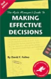 img - for The Agile Manager's Guide to Making Effective Decisions (2nd Edition) book / textbook / text book