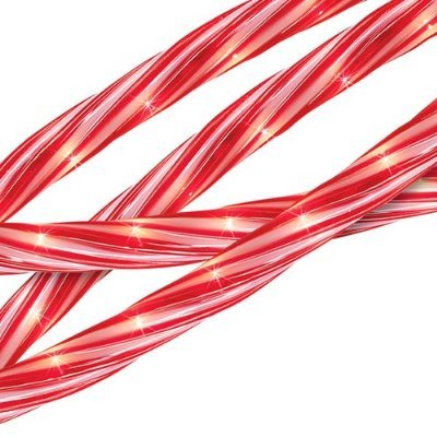 18′ Candy Cane Inspired Indoor/Outdoor Christmas