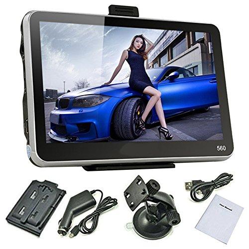 "Zixia TRUCK HD Screen Car GPS with 5"" Navigator 4GB(Free Map + Sun Visor)"