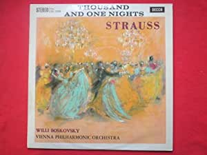 Boskovsky, Willi Strauss 1001 Nights LP Decca SXL2288 VG/EX 1961 conducting Vienna Philharmonic Orchestra