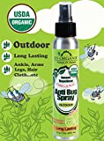 Anti Bug Spray ★ USDA Certified Organic Insect Repellent, 4 Fl. Oz ★ for OUTDOOR use, Long Lasting ★ DEET Free, Kid Safe ★ Pleasant Refreshing Herbal Scent ★ Pure essential oils to Naturally keep bugs, mosquitoes, black flies, ticks and insects away ★ Shake well before use ★ No synthetic chemicals, No Alcohol ★ Cruelty Free , No animal tested ★ Made in USA ★ by US Organic - Nature for Nature
