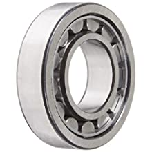SKF Cylindrical Roller Bearing, Removable Inner Ring, Flanged, High Capacity, Steel Cage, Metric