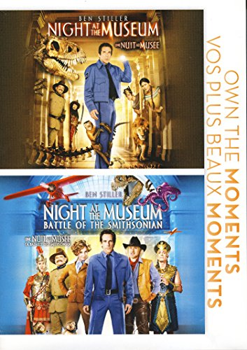 Night At the Museum / Night At the Museum: Battle of the Smithsonian (Double Feature)