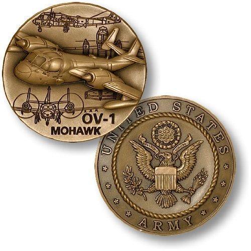 OV-1 Mohawk Challenge Coin