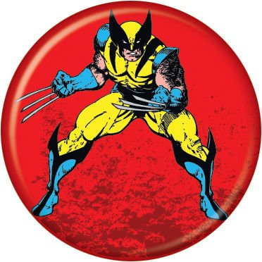"Wolverine -X-Men - Marvel Comics - Pinback Button 1.25"" Bae-45"