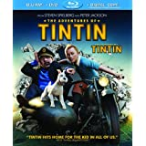 The Adventures of Tintin / Les Aventures de Tintin : Le Secret de la Licorne (Bilingual) [Blu-ray + DVD + Digital]by Jamie Bell