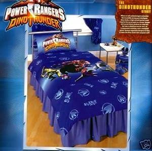 power rangers dino thunder duvet cover bedding set