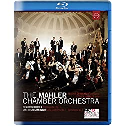 Teodor Currentzis Conducts Mahler Chamber Orchestra [Blu-ray]