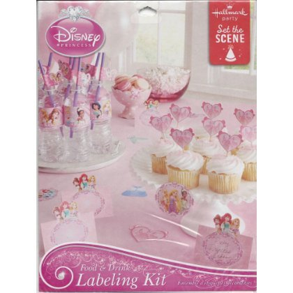Disney Princess Food & Drink Labeling Kit