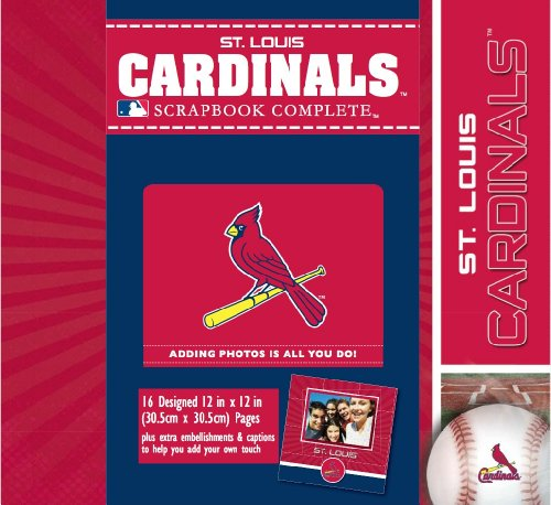 CR Gibson Tapestry Complete Scrapbook Kit, St. Louis Cardinals at Amazon.com