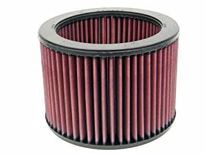 K&N E-2530 High Performance Replacement Air Filter