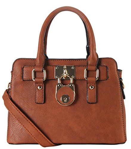 Rimen-Co-PU-Leather-Front-Lock-Dcor-Top-Handle-Mini-Handbag-Womens-Purse-Cross-Body-SD-3630-SW-3608