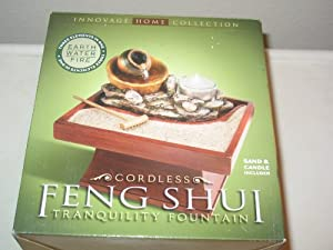 Feng Shui Cordless Tranquility Fountain Home