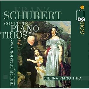 Vienna Piano Trio -  Piano Trio D 929