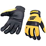 DeWalt Performance 2 Power Tool Glove - Black/Yellow, Large