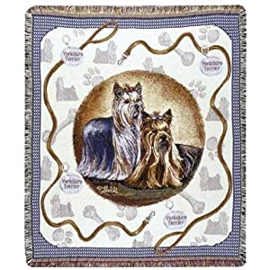 Yorkshire Terrier Throw