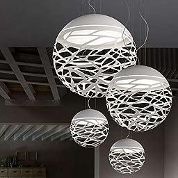 Spherical hollow chandelier 400mm