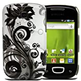 Fi9® SAMSUNG GT-S5570 GALAXY MINI LUXURY PRINTED CLIP ON HARD BACK CASE COVER POUCH SKIN + SCREEN PROTECTOR