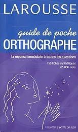 Guide de poche Orthographe