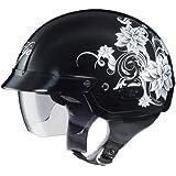 HJC IS-2 Blossom Motorcycle Half-Helmet (MC-5, Small)