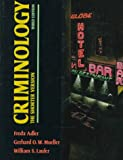 Criminology: The Shorter Version (0070005125) by Adler, Freda