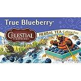 Celestial Seasonings True Blueberry Herbal Tea, 20 Count (Pack of 6)