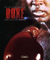 Les plus beaux combats de boxe par Jean-Philippe Lustyk