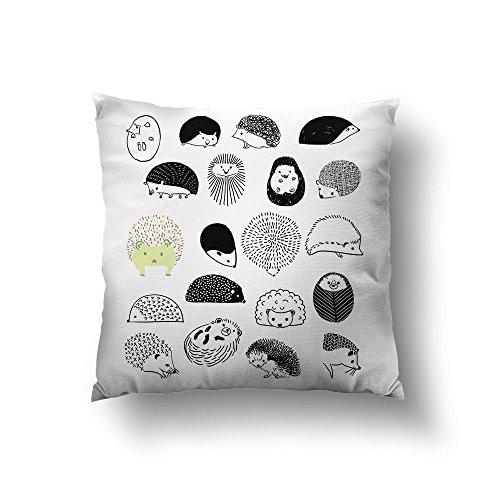 Sharp Shirter 20 Hedgehog Throw Pillow - 18