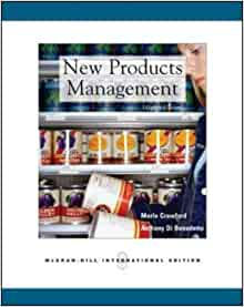 New Products Management: C.Merle Crawford, C. Anthony Di Benedetto