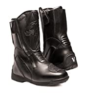 Vega Technical Gear Touring Men's Motorcycle Boots, Black, Size 11 by Vega Technical Gear