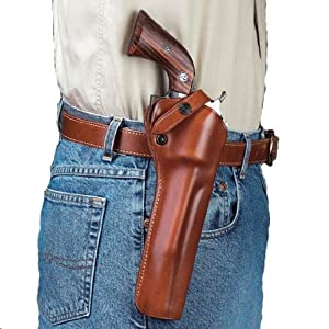 Buy Galco SAO Single Action Outdoorsman Holster for Ruger Single Six 6.5-Inch (Tan, Right-hand) by Galco Gunleather
