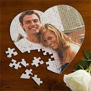 Cheap PersonalizationMall.com Personalized Photo Puzzle – Love Connection Heart (B004I6BKC4)