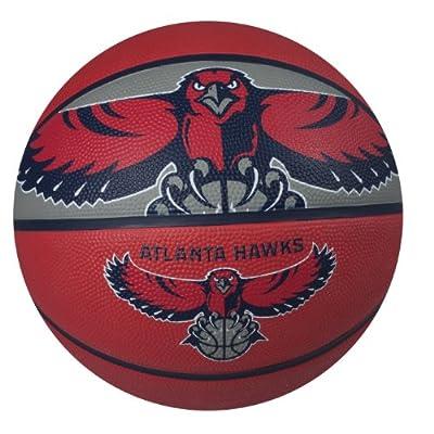 NBA Atlanta Hawks Courtside Rubber Basketball