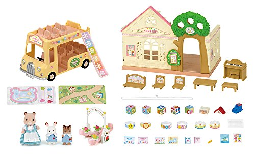 Calico Critters Forest Nursery Gift Set Playset Toys Games