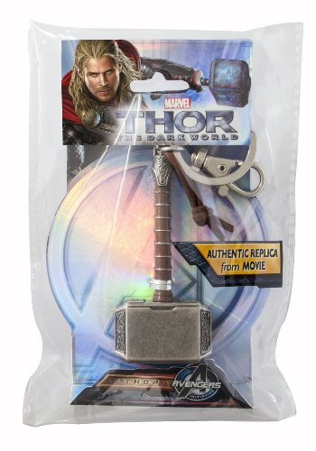 Marvel-Thor-Hammer-2-Pewter-Key-Ring