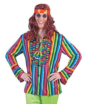 Costume Mexican Mercado Shirt: Adult Sized Costumes: Clothing