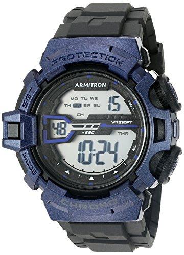 armitron-40-da-uomo-sport-8363bnv-blu-navy-accented-digitale-cronografo-cinturino-in-resina