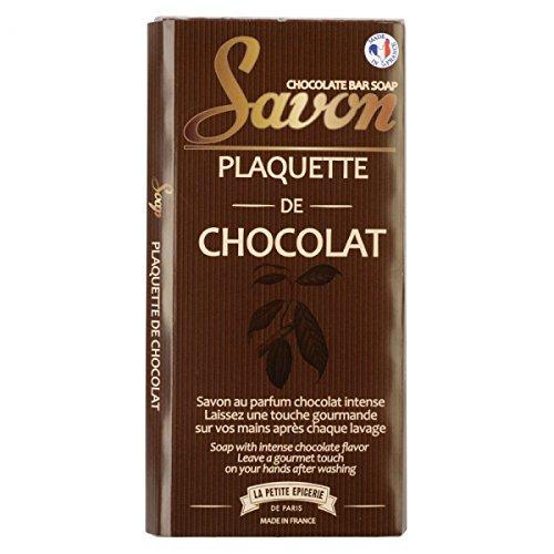 Savon Tablette de chocolat Parfum cacao Marron La petite épicerie de Paris 34-2S-810